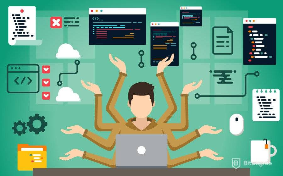 What will a full-stack developer do?